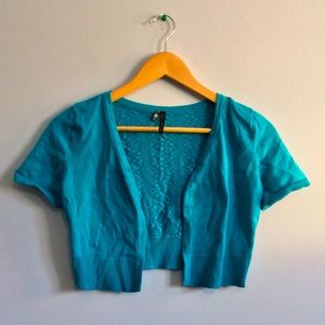 Maurice's Blue Cover-Up/Cardigan
